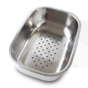 Kitchen Sink Drainer Basket for Arian Vortex Stainless Steel Sink RH001